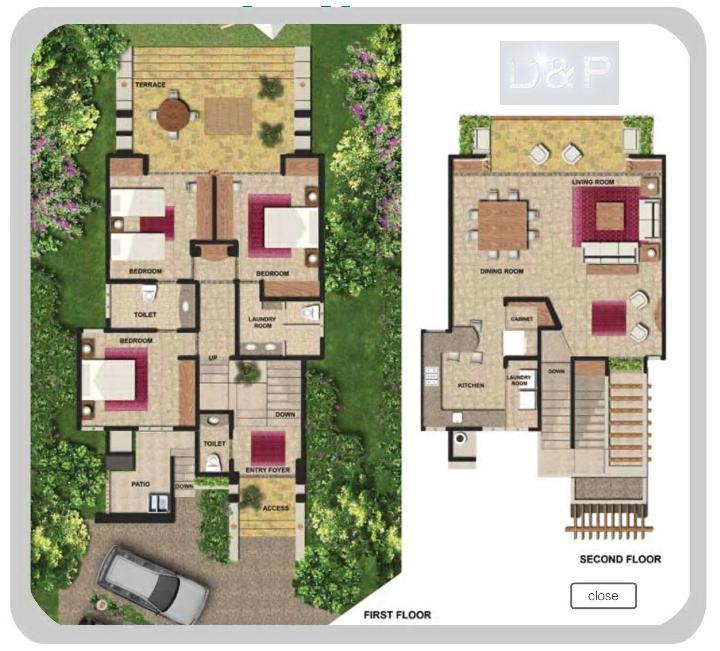 Vista residence spa residenciales for Modelos de casas de dos pisos y sus planos